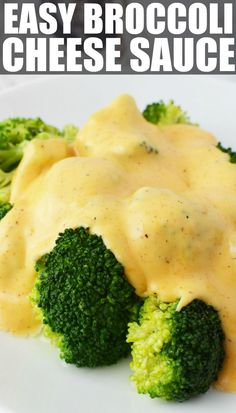 Make Cheese Sauce for Broccoli, a perfect melty, cheesy way to enjoy your veggies, or at-least cover them so the kids do! This broccoli with cheese sauce is the perfect side dish for almost any meal and this homemade recipe pairs perfectly with roa Cheese Sauce For Broccoli, Cheddar Cheese Recipes, Cheesey Broccoli, Steamed Vegetables, Veggies, How To Make Cheese Sauce, Wine Recipes, Cooking Recipes, Keto Recipes