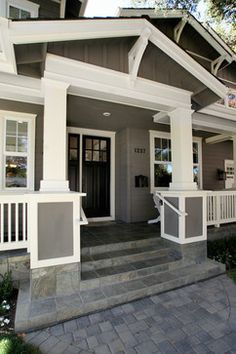 Craftsman Charmer Porch