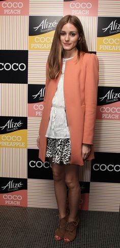 Olivia Palermo - Olivia Palermo Helps Launch COCO Products