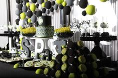 Hostess with the Mostess® - Fedele's Modern Geometric 40th Birthday