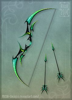 New Dragon Concept Art Cthulhu Ideas Armas Ninja, Anime Weapons, Weapons Guns, Pretty Knives, Cool Swords, Weapon Concept Art, Knives And Swords, Archery, Oeuvre D'art