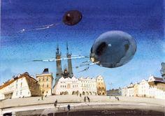 Один из моих любимых современных художников - Аруш Воцмуш (Александр Шумцов)