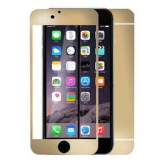 Iphone 6 Plus Colored Mirror Screen Protector [Tempered Glass] Connetech Electroplating Mirror Effect Front Screen & Back Tempered Glass Screen Protector Whole Body Protection Anti Scratches for Iphone 6 Plus (Gold) Buy Iphone 6, Apple Iphone 6, Iphone Cases, Glass Protector, Tempered Glass Screen Protector, Mirror Effect, Iphone Accessories, 6s Plus, Aromatherapy Diffuser
