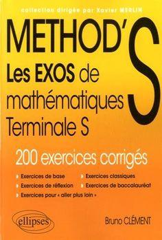 METHOD'S Les Exos de Mathématiques Terminale S 200 Exerci... https://www.amazon.fr/dp/2340008816/ref=cm_sw_r_pi_dp_GSzHxb5NEHESP