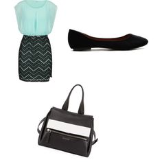 Work day!!!! by caligirl43 on Polyvore featuring polyvore, fashion, style, maurices, Ollio and Givenchy