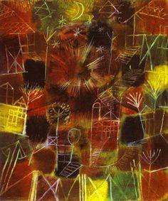Paul Klee Composition cosmique