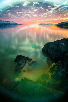 Eyjafjörður, North Iceland by hkvam