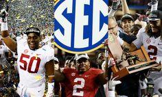 2014 / 2015 / 2016 SEC Champions! Alabama!!