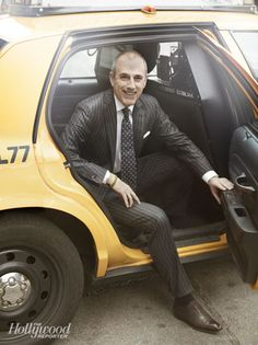 """Matt Lauer in slim-cut Zynga suit, as seen in The Hollywood Reporter's """"35 Most Poweful People in Media"""""""