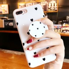 Heart Glossy Case With PopSocket – Phone case for girls Girl Phone Cases, Cheap Phone Cases, Diy Phone Case, Cute Phone Cases, Bling Phone Cases, Pretty Iphone Cases, Iphone 7 Plus Cases, Iphone Phone Cases, Iphone 6plus