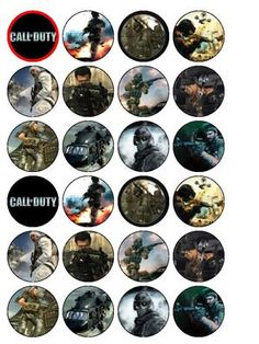 Call of Duty Party Supplies - Throw a Call of Duty Theme Party!