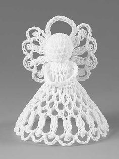 Best 11 6 beautiful angels are included in this pattern. Each is stitched using size 10 cotton thread. They make nice treasured gifts, great ornaments or look pretty setting on a mantle. Crochet Christmas Ornaments, Christmas Crochet Patterns, Holiday Crochet, Crochet Snowflakes, Christmas Knitting, Christmas Angels, Thread Crochet, Filet Crochet, Knit Or Crochet