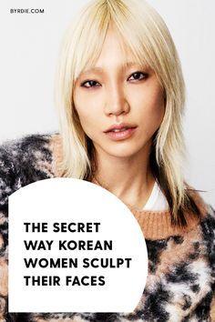 The Crazy 50 Hour Korean Massage That Changes Your Face Shape Korean Facial Korean Haircut Beauty Routine 30s