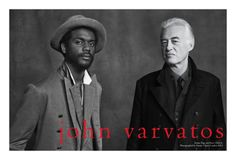 Jimmy Page & Gary Clark Jr. Star in John Varvatos Spring 2013Campaign