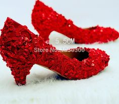 94.02$  Watch here - http://aliyst.worldwells.pw/go.php?t=32703038162 - Nice Woman Bridal Shoes Lady Crystal Party Prom Shoes Red Flower Woman Imitation Pearl Wedding Dress Shoes 94.02$