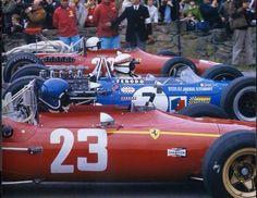 1968 Belgian Grand Prix, Spa-Francorchamps. Jacky Ickx…