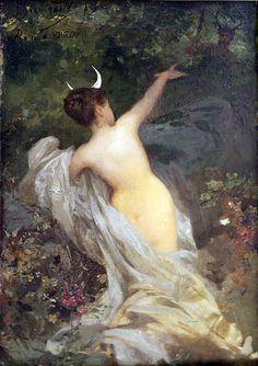 Diana und Aktaeon 1886 by Henryk Hector Siemiradzki 1843-1902)