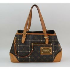 Louis Vuitton Limited Edition Monogram Canvas Riveting Bag #moshposh