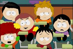 South Park - No Headgears allowed in Class! by Flip-Reaper-Z on deviantART