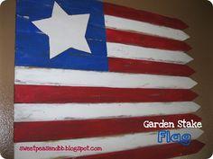 garden stake flag