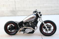 1982 yamaha virago bobber xv750 022 by jorgehurtado, via Flickr    I like this one too, but it is kinda clean for my taste....