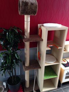 cat tree5 - kallax shelving
