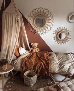Baby Bedroom, One Bedroom, Girls Bedroom, Room Color Schemes, Room Colors, Baby Shower Bunting, Caravan Decor, Kidsroom, New Room