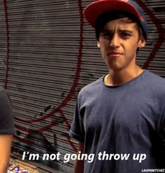 Shut up Beau, you always throw up. But we still love you <3