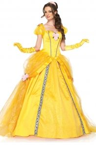 5PC DELUXE BELLE COSTUME