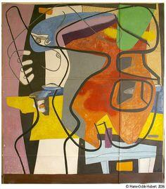 Fondation Le Corbusier - Peintures - Peinture murale, 35 rue de Sèvres à Paris