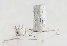 Katherine Wheeler open container neckpiece (2007)