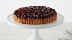Get Martha Stewart's Cherry Tart recipe from the Pastry Cream episode of Martha Bakes airing on PBS Food.
