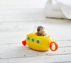 Skip Hop Zoo Submarine Bath Toy- Monkey - Bath Toys - Ideas of Bath Toys - Skip Hop Zoo Submarine Bath Toy- Monkey Bath Toys For Toddlers, Kids Bath, Toddler Toys, Kids Toys, Monkey Bath, Toy Monkey, Baby Tub, Baby Bath Toys, Skip Hop Zoo