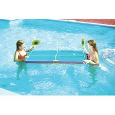 Swimline 5 Piece Floating Swimming Pool Ping Pong Game Set & Reviews   Wayfair