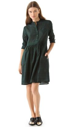 Boy. by Band of Outsiders Baby Doll Collarless Dress