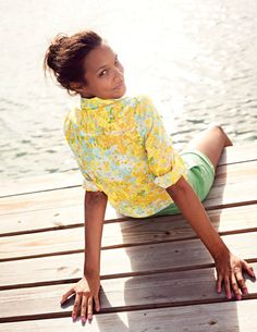 The Casual Shirt, Blue Dotty Print