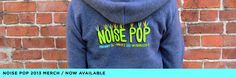 The Noise Pop Festival is San Francisco's favorite indie music, arts and film festival. Now in its 22nd year, Noise Pop has brought early exposure to many emerging artists in the Bay Area and beyond, many of whom have gone on to widespread acclaim.