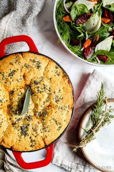 One pot Black Eyed Pea Sweet Potato Cornbread Pot Pie is pure comfort food. This black eyed pea pie is simple to make too! Best Vegetarian Recipes, Veggie Recipes, Whole Food Recipes, Cooking Recipes, Healthy Recipes, Dinner Recipes, Vegetarian Food, Pie Recipes, Potato Recipes