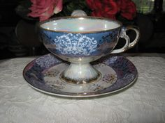 Vintage coffee cup. by alilacollections on Etsy