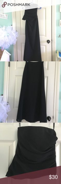 Alfred Sung Black Skirt with Strapless top Alfred Sung Black Skirt with Strapless top Size 4 Alfred Sung  Dresses Strapless