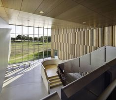 Botanical Research Institute of Texas / H3 Hardy... | MdA · MADERA DE ARQUITECTO | #madera #techo #interior #design #architecture