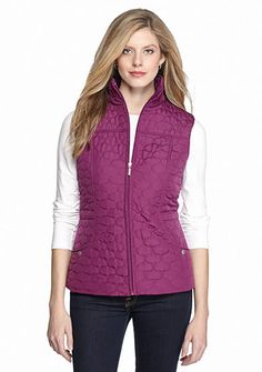 New Directions® Pebble Quilted Vest