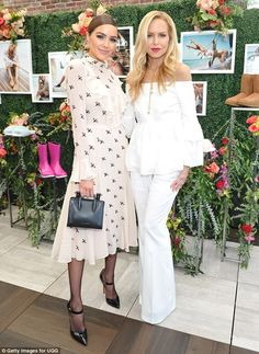 Lovely ladies:Olivia Culpo and Rachel Zoe were anything but casual as they attended an Ug...