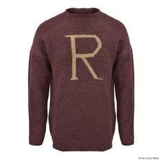 R' for Ron Weasley™ Knitted Jumper | Adults | Warner Bros Studio Tour London