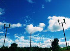 ☀️☁️#Nature #Sky #Clouds #PuertoRico #BlueWorld