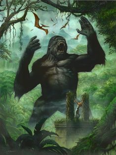 King Kong by Greg Staples