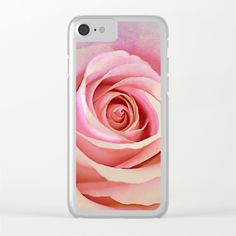 Romantic rose(8) Clear iPhone Case