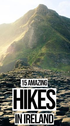 The best hiking in Ireland // Hikes around Ireland / mountains in Ireland / things to do in Ireland / planning a trip to Ireland / trekking in Ireland Ireland Hiking mountains planning Galway cork 756464068644427318 Ireland Hiking, Ireland Travel Guide, Traveling To Ireland, Ireland Camping, Backpacking Ireland, Ireland Destinations, Best Vacation Destinations, Oh The Places You'll Go, Places To Travel