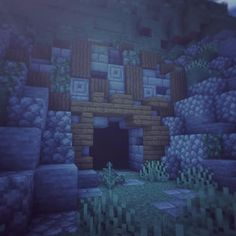 Minecraft decorative cave entrance Minecraft decorative cave entrance, The Effective Pictures We Offer You About driveway Entrance A quality picture can Château Minecraft, Minecraft Cave House, Villa Minecraft, Architecture Minecraft, Construction Minecraft, Casa Medieval Minecraft, Minecraft Welten, Minecraft Building Guide, Minecraft Structures