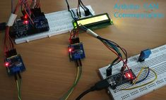 Arduino CAN Tutorial - Interfacing MCP2515 CAN BUS Module with Arduino Arduino Projects, Electronics Projects, Controller Area Network, Writing Programs, Electrical Projects, Data Transmission, Circuit Diagram, Electronic Art, Communication